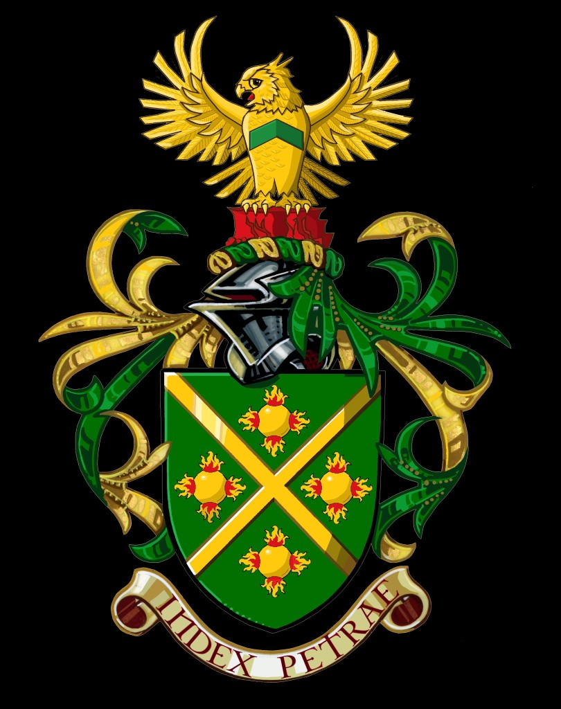 Arms and Crest of Mr. Clifford Brunetti