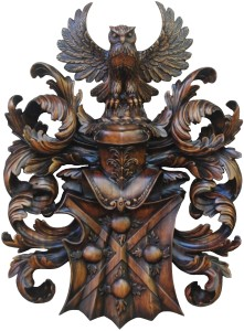 4 Brunetti Arms carved